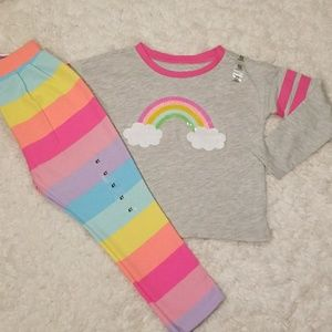The Children's Place 2-piece Rainbow Outfit NWT